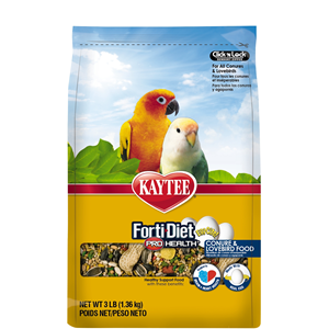 Kaytee Forti-Diet Pro Health Egg-Cite! Conure & Lovebird Food