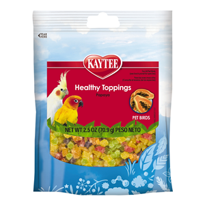 Healthy Topping with Papaya for Pet Birds