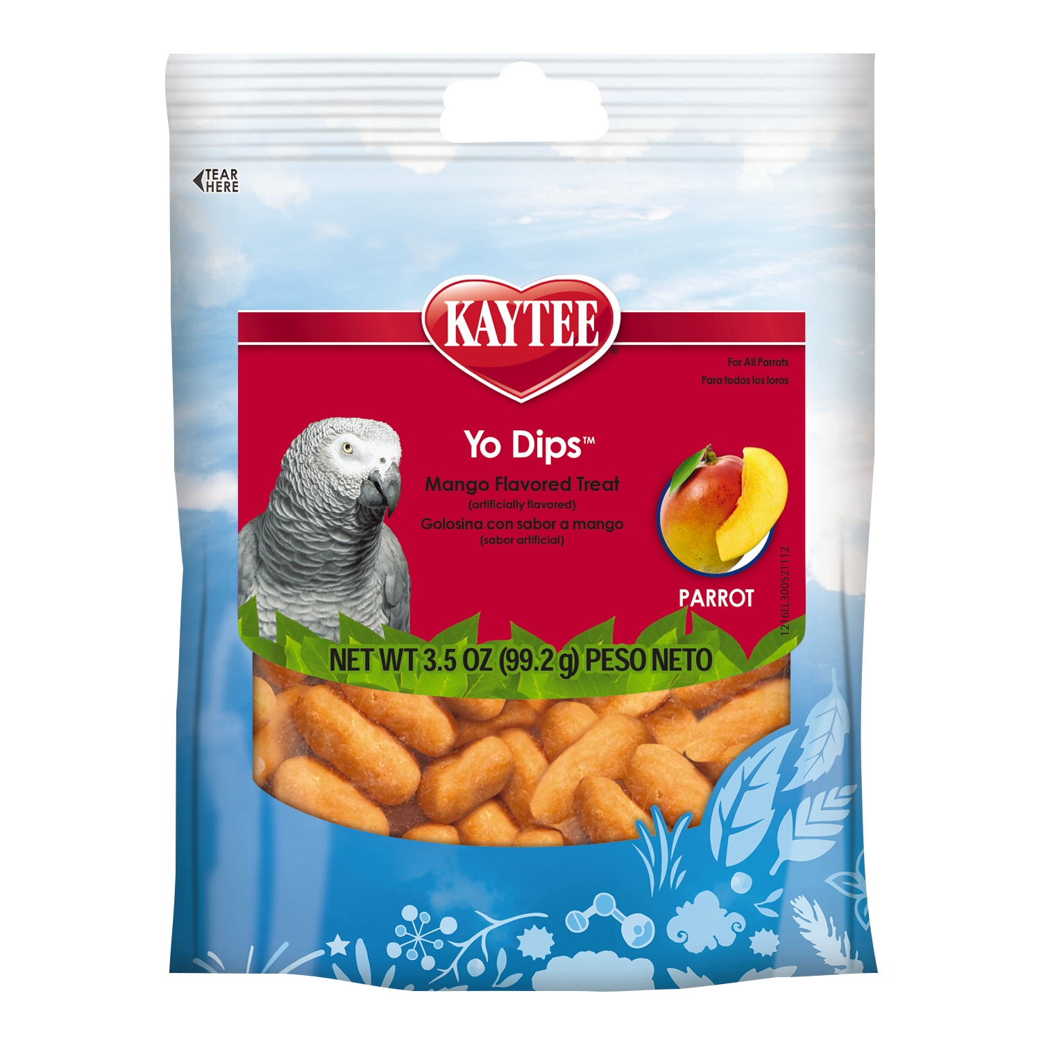 Yo Dips Mango Flavored Bird Treats