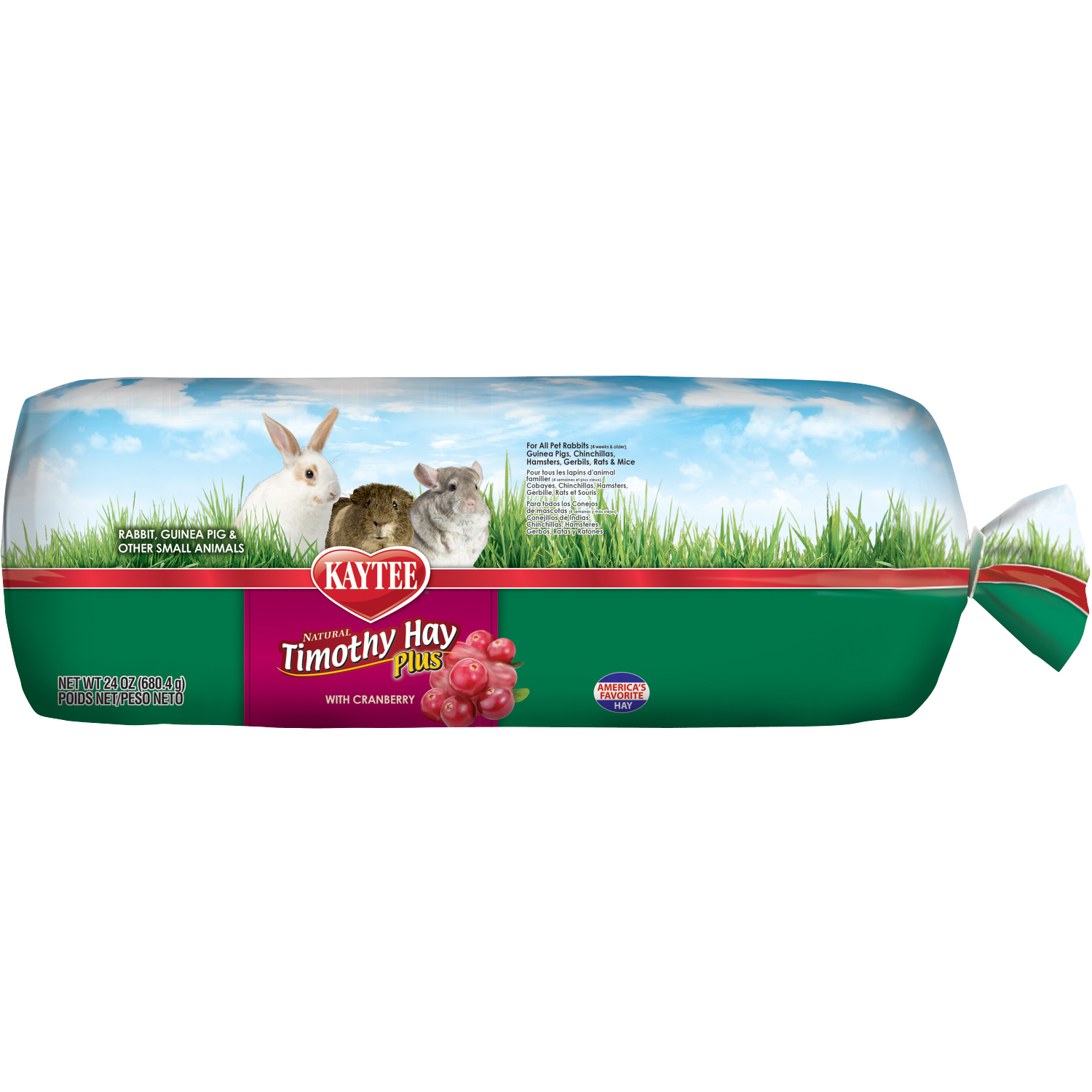 All Natural Timothy Hay with Cranberry