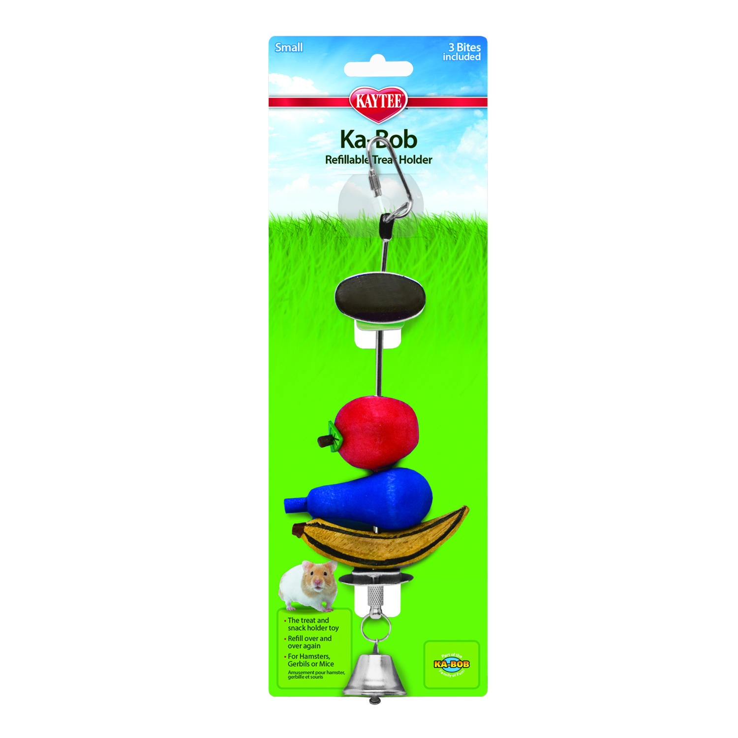 Kaytee Ka-Bob Chew Dispenser with Suction Cup