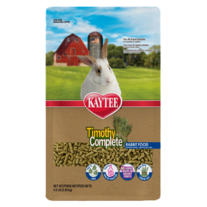Kaytee Premium Alfalfa Free Timothy Fiber Diet for Rabbits