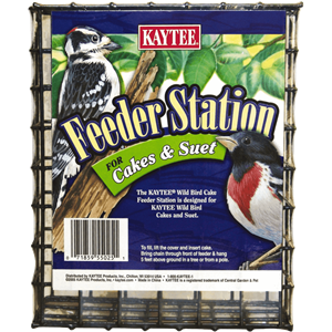 Wild Bird Feeder Station for Cakes and Suet