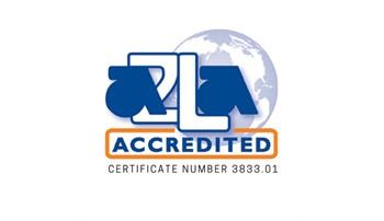 A2LA Accredited Certified