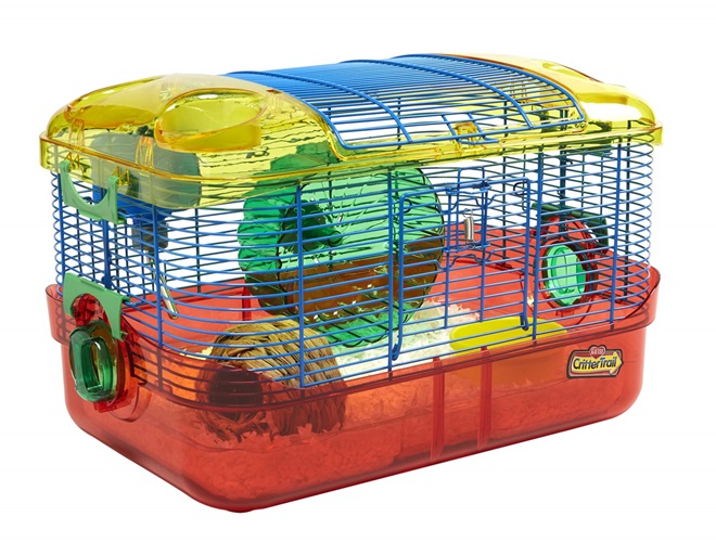 How To Assemble A Crittertrail Starter Habitat For Your Hamster Gerbil Or Mouse