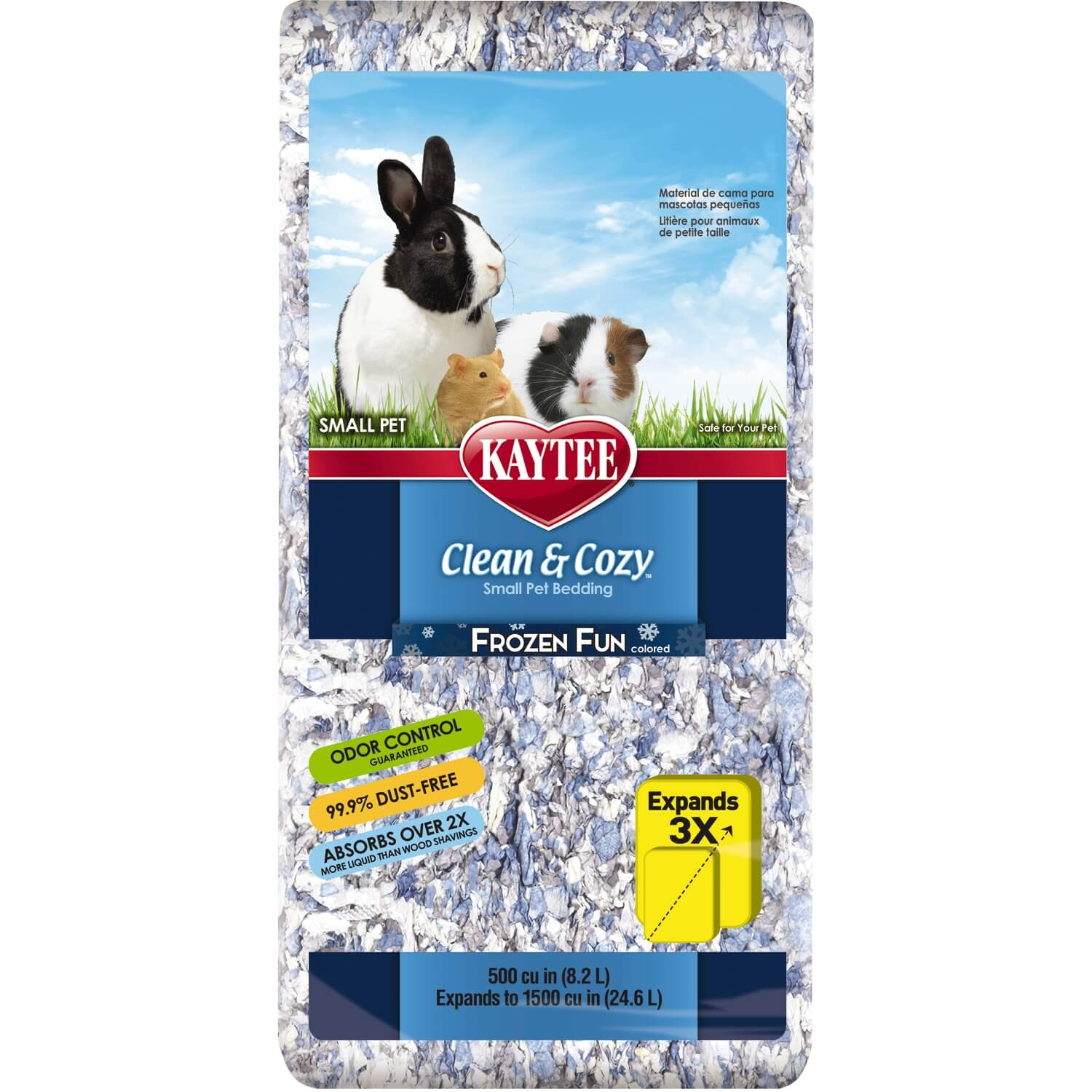 Frozen Fun Clean & Cozy Pet Bedding