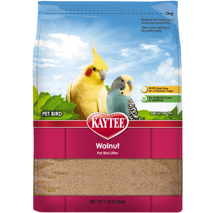 Walnut Pet Bird Litter